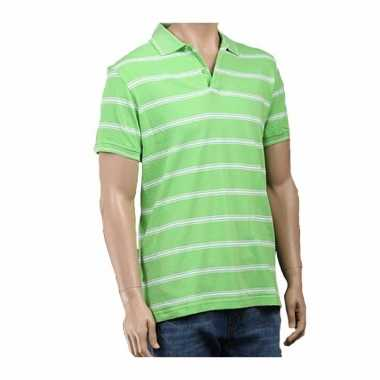 Goedkope  Golf polo lime poloshirt